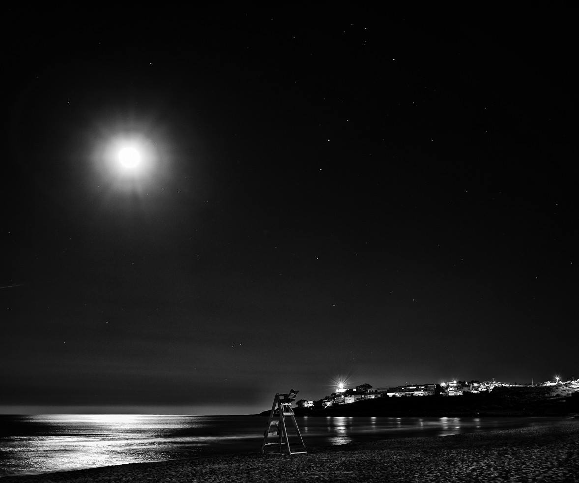luna llena en el cabo huerta concha beneito