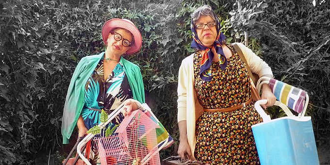 Paulina Y Catalina De Oficio Peregrinas Teatro En La