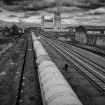 Tren de mercancías peligrosas. pkp