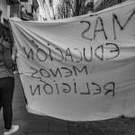 Manifestación estudiantil. pkp