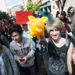 Manifestación de estudiantes, Badajoz. Oto