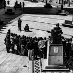 Recepción a escolares españoles y portugueses en el ayuntamiento. pkp