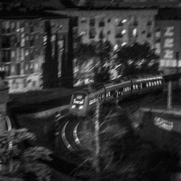 Midnight train. pkp