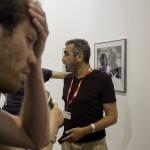 Perpignan, Visa pour L'image. Encuentro con Frederic Noy. Oto