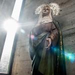 Virgen de la Parroquia de San Fernando. La retiran las procesiones. oto