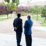 Francisco Javier Fragoso pide ayuda a Fernández Vara para la Plataforma Logística. oto