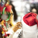 Compras navideñas calle Menacho. oto