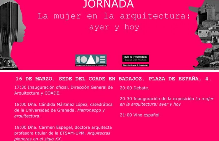 jornada-mujer-arquitectura-coade-culturabadajoz