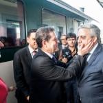 El ministro y el alcalde