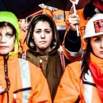 Badajoz, Manifestación contra el cierre de la mina de Aguablanca.