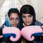 Boxing for free. Sadaf y su hermana Shabnam