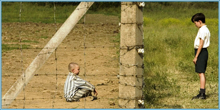 A scene from The Boy In The Striped Pyjamas.