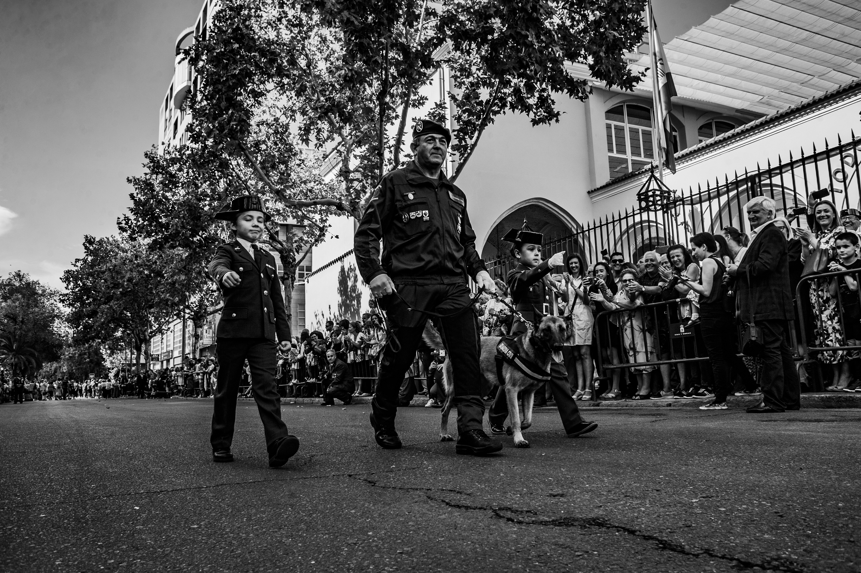 dia del pilar patrona de la guardia civil