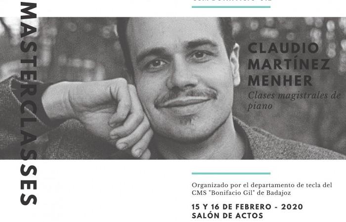 Cartel curso Claudio