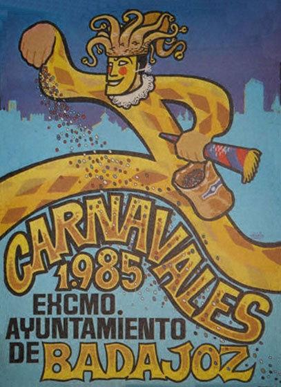 cartel-carnaval-badajoz-culba-1985