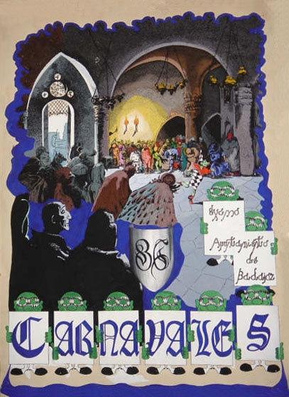 cartel-carnaval-badajoz-culba-1986