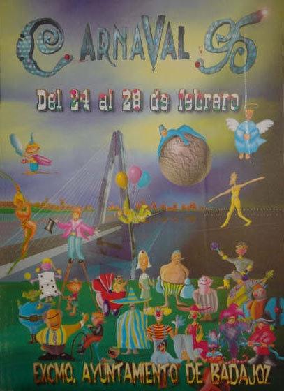 cartel-carnaval-badajoz-culba-1995