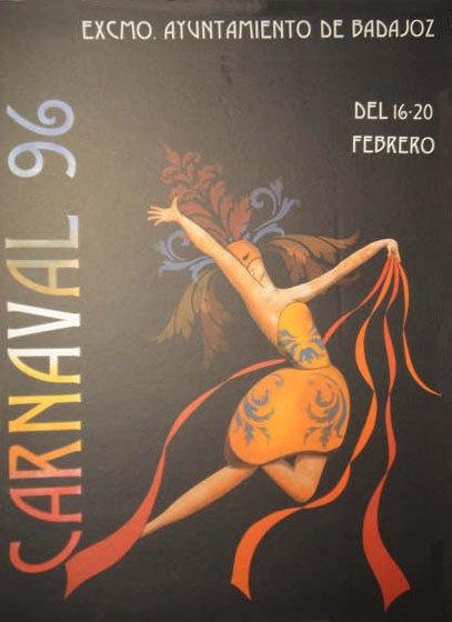 cartel-carnaval-badajoz-culba-1996