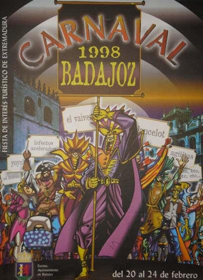 cartel-carnaval-badajoz-culba-1998