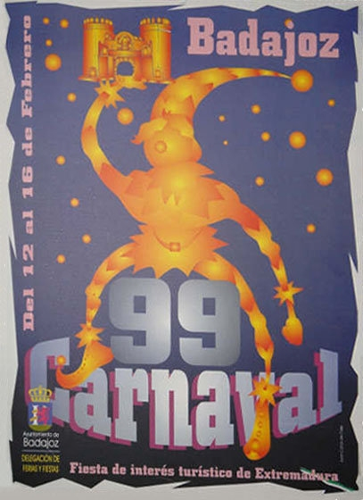 cartel-carnaval-badajoz-culba-1999