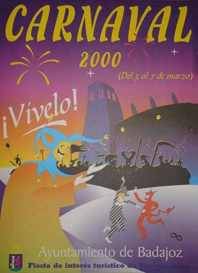 cartel-carnaval-badajoz-culba-2000