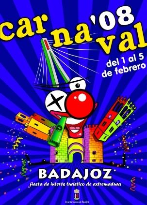 cartel-carnaval-badajoz-culba-2008