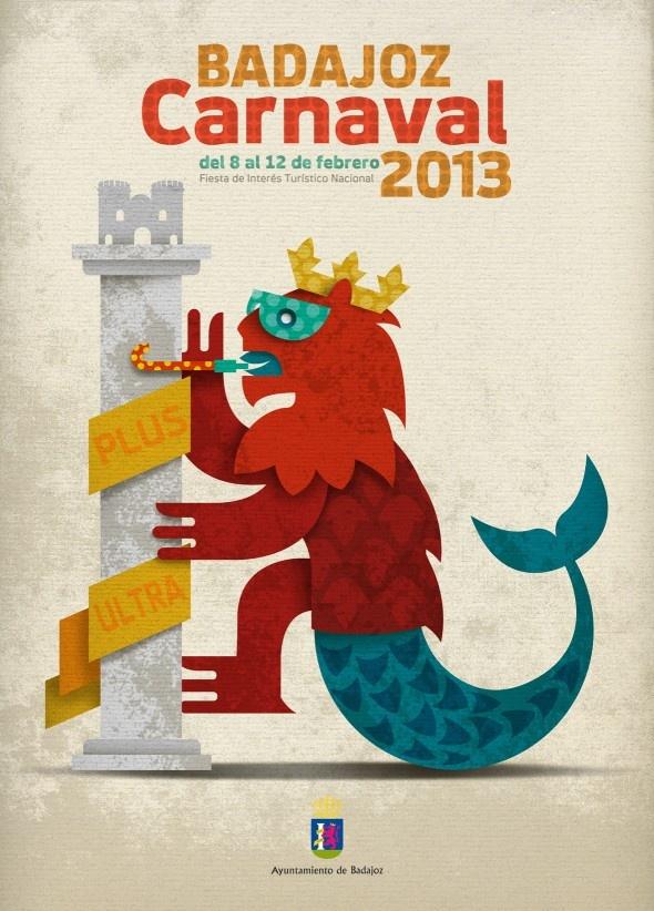 cartel-carnaval-badajoz-culba-2013