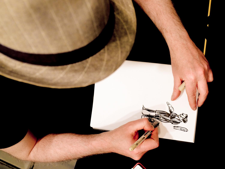 Feria del Libro. Javier Olivares. Oto