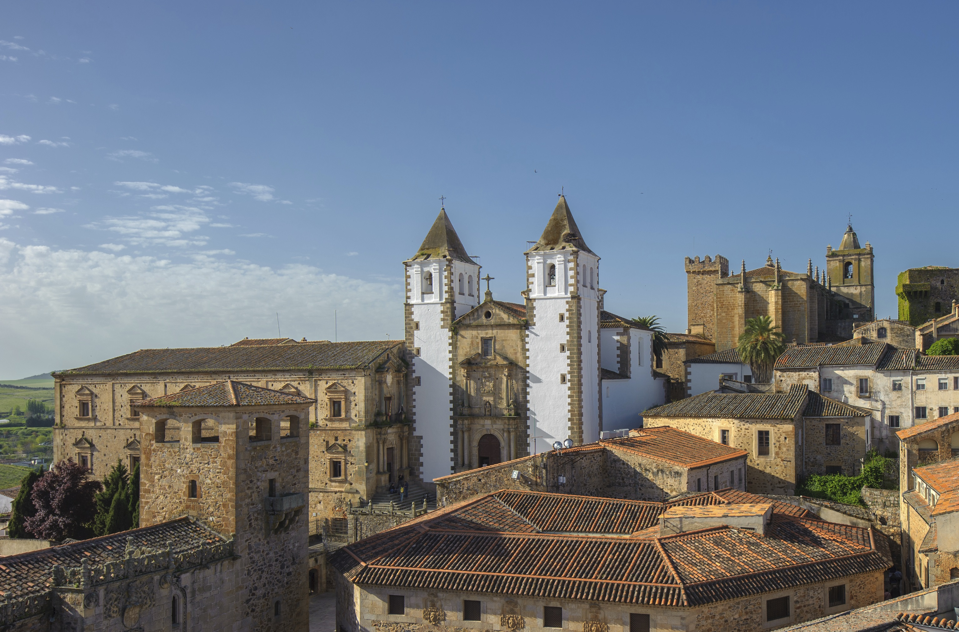 Old town of Caceras, Spain
