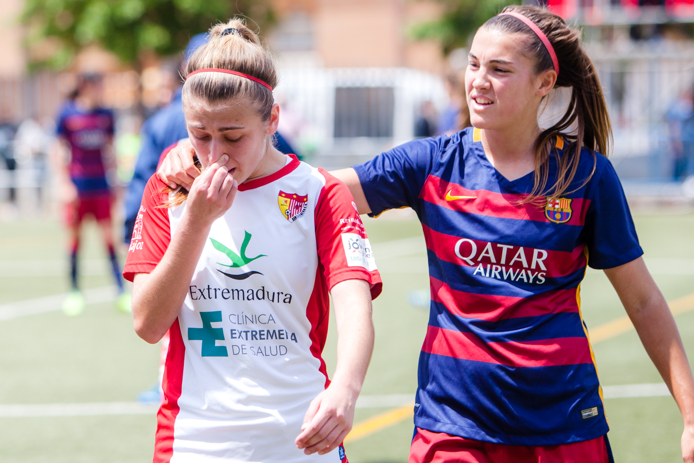 Consuelo. Santa teresa-FC Barcelona 0-7.