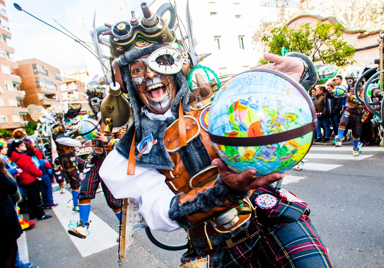 Carnaval, Desfile de comparsas,  El Vaivén. Oto