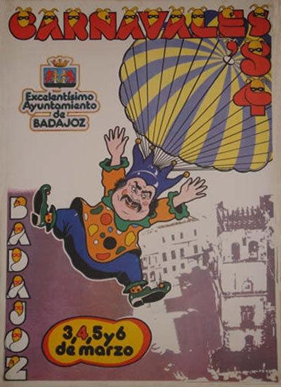 cartel-carnaval-badajoz-culba-1984