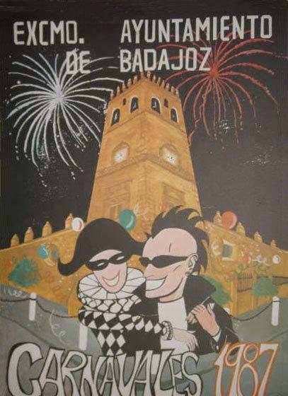cartel-carnaval-badajoz-culba-1987