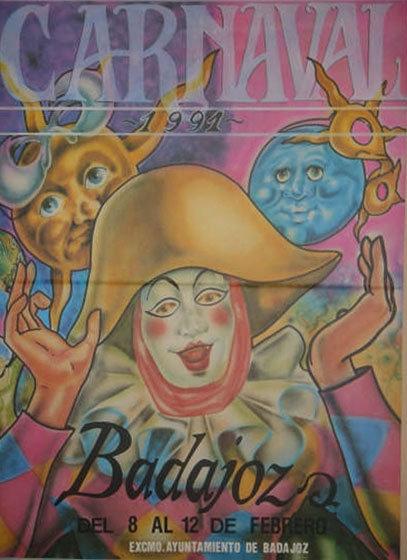cartel-carnaval-badajoz-culba-1991