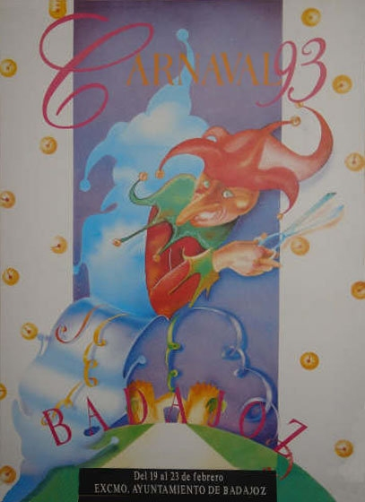 cartel-carnaval-badajoz-culba-1993
