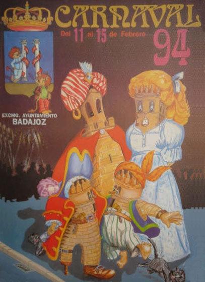 cartel-carnaval-badajoz-culba-1994