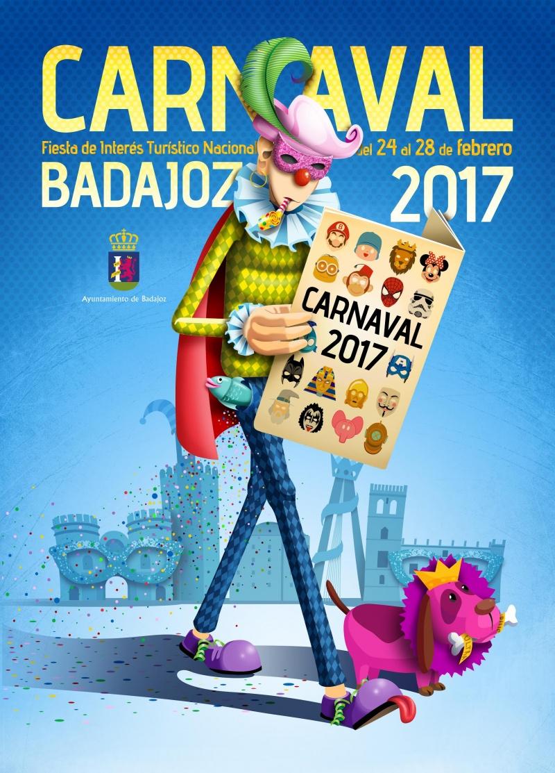 cartel-carnaval-badajoz-culba-2017